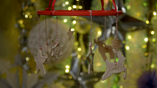 Kirstie Allsopp's salt dough decorations on Kirstie's Handmade Christmas