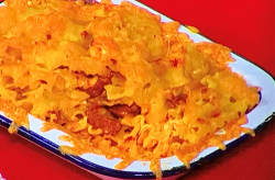 John Gregory-Smith's Turkey with chorizo mac and cheese on Sunday Brunch