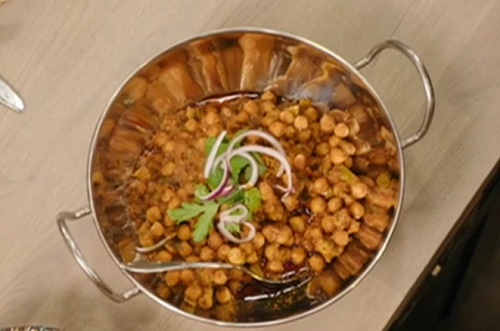 Sarah's chickpea curry on Best Home Cook