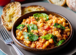 Jose Pizarro's chickpea and spinach stew on Sunday Brunch
