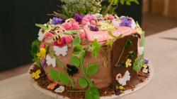 Eleisabetta's secret garden cake on Best Home Cook