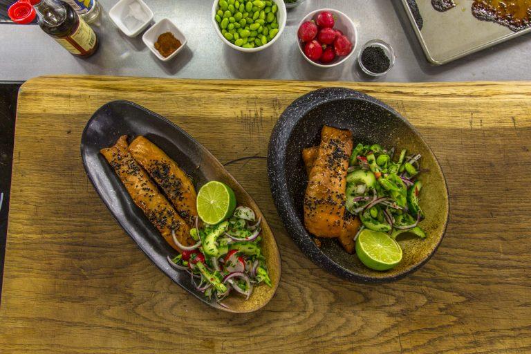 Jonathan Phang's Eastern and Oriental Salmon on James Martin's Saturday Morning