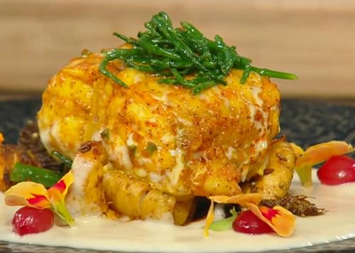 Atul Kochhar's Monkfish curry on Saturday Kitchen