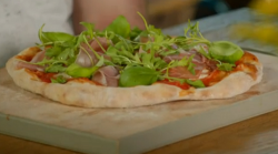 Stacie Stewart's rocket and prosciutto pizza for The Pizza Diet created by Pasquale Cozzolino on ...