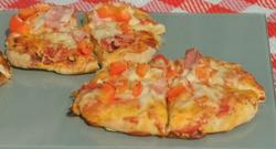 Rianna Drew's pizza Margarita on Eat Well for Less?