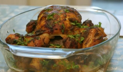 Rianna Drew's rogan josh roast chicken with cauliflower and parsnips on Eat Well for Less?