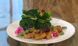 Ching's steamed pork with sticky rice on Saturday Kitchen