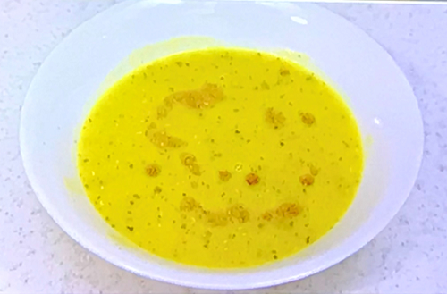 Abs's from Five Turkish lentil soup on Celebrity Come Dine with Me