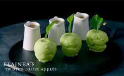 Elainea's Twisted Toffee Apples on Crazy Delicious