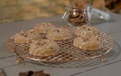 Ian and Henry (Bosh)'s Baked Banana Bread Doughnuts on Living on the Veg