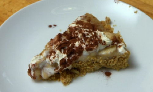 Ewen MacIntosh banoffee pie dessert on Celebrity Come Dine With Me 2020