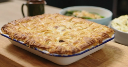 Suzie's beef and Irish stout pie with colcannon mash on Best Home Cook 2020
