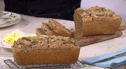Clodagh Mckenna's soda, oatmeal and flax seeds bread on This Morning