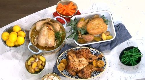 Phil Vickery's chicken cooked three ways on This Morning