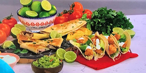Phil Vickery's Mexican feast on This Morning