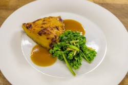James Martin Blackened Cod with Vegetable Stir Fry on James Martin's Saturday Morning