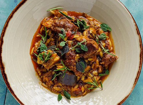 Simon Rimmer's Lamb and Cinnamon Casserole with Orzo on Sunday Brunch