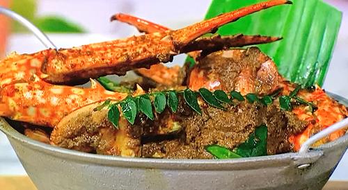 Karan Gokani's Sri Lankan crab kari on Sunday Brunch