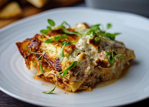 Simon Rimmer's Shredded Pork Lasagne on Sunday Brunch
