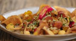 Sarah's sweet potato rice salad on Best Home Cook  2020
