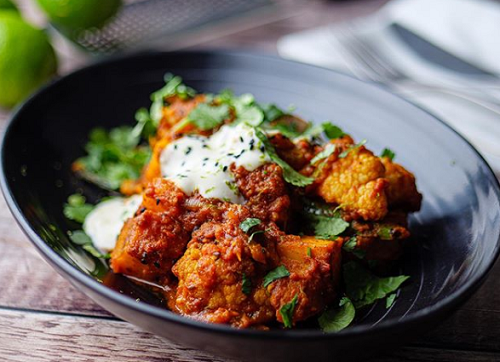 Simon Rimmer's Aloo Gobi curried potatoes on Sunday Brunch