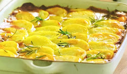James' beef and ale (Guinness stout) hotpot with potatoes and rosemary on Jamie: Keep Cook ...
