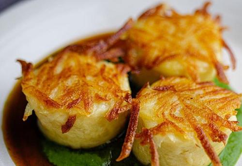 Anna Haugh's  Irish Dumpling Stuffed With Braised Beef on Sunday Brunch