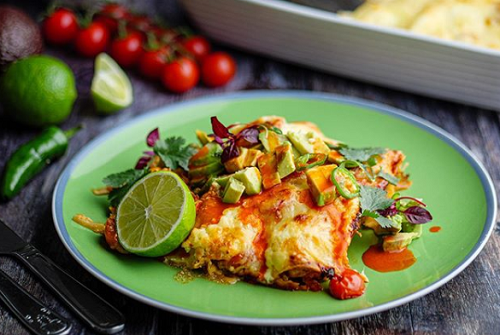 Simon Rimmer's Spicy Fish Taco Bake  on Sunday Brunch