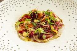 James Martin Sea bass Cerviche with Pickled Veg and Yuzu Mayo on James Martin's Saturday M ...