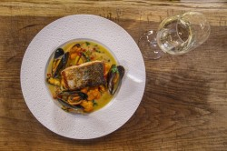 James Martin Pan Fried Salmon with Oriental Mussel Sauce on James Martin's Saturday Morning