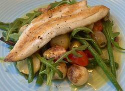 Simon Rimmer's Sea Bass Nicoise on Sunday Brunch