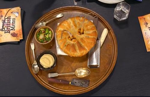 Amy's Desperate Dan cow pie on the Great British Menu