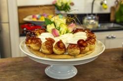 James Martin Gateau St Honore Easter dessert on James Martin's Saturday Morning