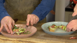 Tom Hunt's broad bean guacamole with coriander and chilli (Not Avocado on Toast) on James  ...