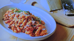Ainsley Harriott's Sardinian pasta with fennel and tomato sauce on Ainsley's Mediterranean Cookbook