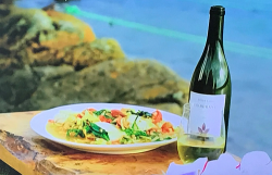 James Martin pollock with a bean and tomato stew on James Martin's Islands To Highlands