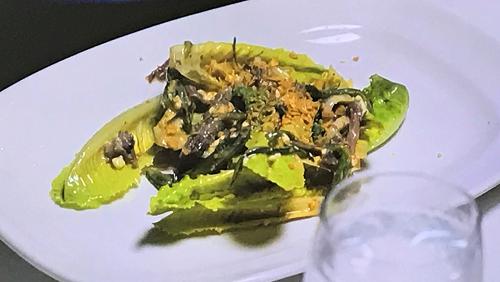 Gordon Ramsay's spicy Caesar salad dressing on Gordon, Gino and Fred: Road Trip