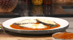 James Martin's aubergine parmigiana on This Morning
