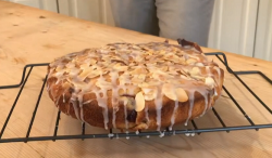 Anton's 'cha cha' cherry Bakewell cake on This Morning