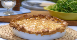 Mary Berry's chicken and bacon pie on Saturday Kitchen