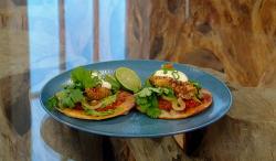 Matt Tebbutt's fish tacos with condensed milk on Saturday Kitchen