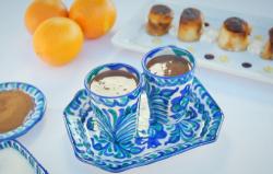 Ainsley Harriott Spanish hot chocolate on Ainsley's Mediterranean Cookbook