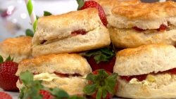 Phil Vickery's VE Day Scones with Buttermilk on This Morning