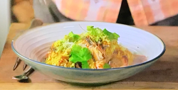 James Martin chicken and prawn biryani on This Morning