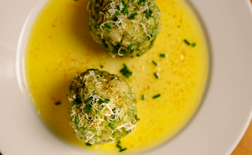 Steffi's Austrian dumplings on Remarkable Places to Eat with Fred and  Rachel Khoo