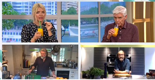The Hairy Bikers' turmeric, ginger and lemon drink on This Morning