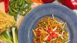 Gok's chicken chow mein masterclass on This Morning