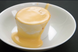 Phil Daniels and Dom Littlewood's apple pie and custard on Celebrity Masterchef 2020