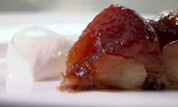 Raymond Blanc tarte tatin with braeburn apples on Saturday Kitchen