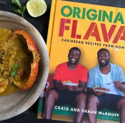 Georgina Hayden's Crab Curry and Dumplings made with a recipe from Original Flava: Caribbean Rec ...